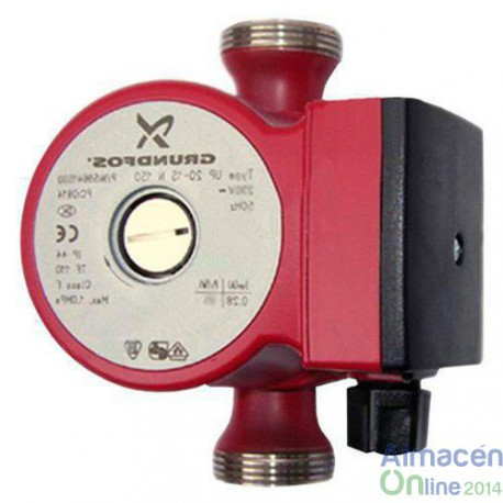 BOMBA GRUNDFOS UP 20-45 N 1X230V 150 MM