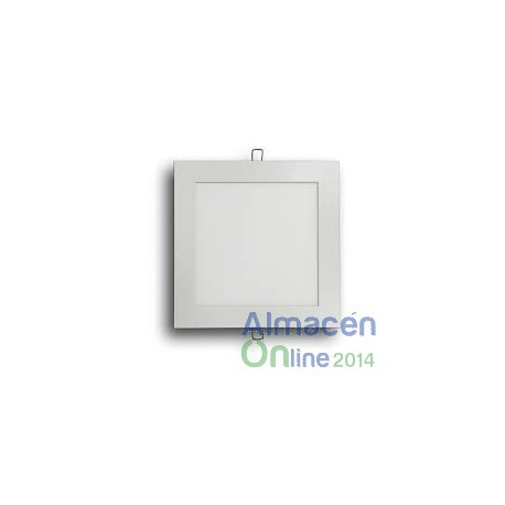 DOWNLIGHT CUADRADO 18W, BLANCO EMPOTRABLE 5500K.