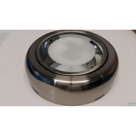 DOWNLIGHT PLAFON SUPERFICIE TITANIO 2X26