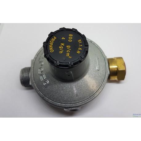 REDUCTOR FIJO GAS PROPANO 800G/CM2 4KG/H GRECA